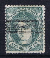 Spain: Mi 104 Ed 110  Used  1870 - 1868-70 Provisional Government