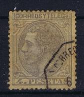 Spain: Mi 184 Ed 208  Used 1879 - 1875-1882 Kingdom: Alphonse XII