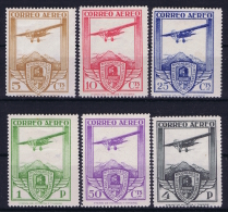 Spain: Mi 457 - 462 Ed 483 - 488  MH/* 1930 4 Pts Is Signed, 1 Pts Has A Thin Spot - Ungebraucht