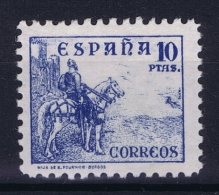 Spain: Mi 780 I  Ed 830  MH/* 1937 - 1931-50 Nuevos & Fijasellos