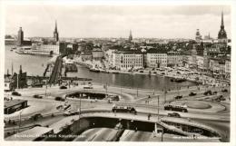 93999 - Suède        Stockholm   Utsikt  Fran  Katarinahissen - Suède