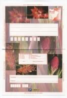 Brazil FLORA FLOWERS MINT POSTAL STATIONERY 1997 - Agricoltura