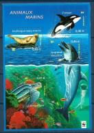 2002  FRANCIA  Pesci  Fish  Foglietto   Nuovo ** MNH - Francia