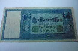 Billet 100 Mark Allemagne Berlin 21/04/1910 - [ 2] 1871-1918 : Empire Allemand