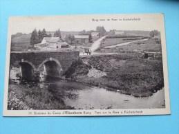 Brug Over De ROER In Küchelscheidt ( N° 30 ) Environs Du Camp D'Elsenborn Kamp - Anno 1936 ( Zie Foto Voor Details ) !! - Bütgenbach