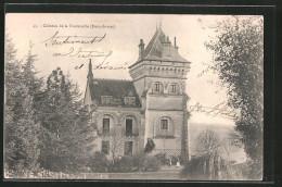 CPA Deux-Sévres, Château De La Fontenelle - Francia
