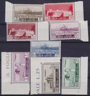 COLONIE ITALIANE LIBIA 1939 13ª Fiera Di Tripolicon PA / Nuovi Con TL / 2v Di PA Gomma Integra Sassone 158/A40 - Libia