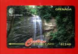 "GRENADA: GRE-287A ""Royal Mt Carmel Watterfalles"" CN:287CGRA Rare (15.000ex), (1999)"