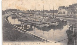 CPA 59 DUNKERQUE VUE SUR LE CANAL - Dunkerque