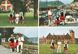 España--Guipuzcoa--San Sebastian--Vista Parcial Y Trajes Tipicos---a, Saint Quentin, Francia - Vestuarios