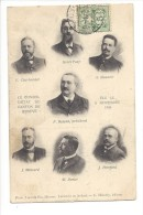 13479 - Le Conseil D'Etat Du Canton De Genève élu Et Carte Circulée 1906 - GE Genève