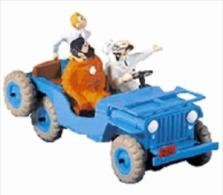X TINTIN CARS DESTINATION MOONLa Jeep – - Tintin