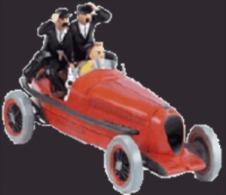 X TINTIN CARS CIGARSLe Bolide Rouge - - Tintin