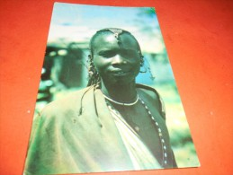 B653 Tanzania Masai Woman Viagg.pieghina Angolo - Tanzania