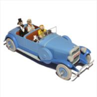 X TINTIN CARS CIGARSLINCOLN TORPEDO GRAND SPORT SAOUTCHIK - Tintin