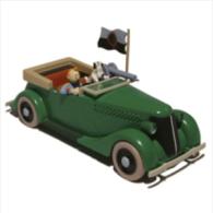 X TINTIN CARS BROKEN EARL'AUTOMITRAILLEUSE (Broken Ear) - Tintin
