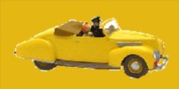 X TINTIN CARS CRYSTAL BALLSLe Cabriolet Du Capitaine Haddock - (7 Crystal) - Tintin