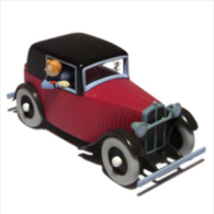 X TINTIN CARS BROKEN EARROSENGART ET AUTRES - Tintin