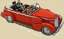 X TINTIN CARS TIBETLe Taxi De New-Dehli - (Tibet) - Tintin