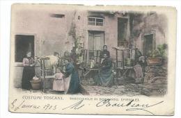 ITALIE... COSTUMI TOSCANI. Trecciaiole Di Borgunto ( FIESOLE) - Italy