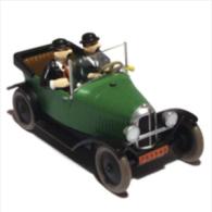 X TINTIN CARS BLACK GOLDCITROEN 5 HP 1924 - Tintin
