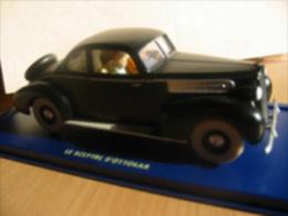 X TINTIN CARS KING OTTOKARLa Packard Du Roi Muskar - (King Ottokar) - Tintin