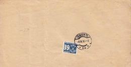 ÖSTERREICH Nachporto 1936 - 39 Gro Nachporto Auf Magistratsbrief - Portomarken