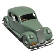 X TINTIN CARS BLACK GOLDLa Lancia Aprillia Grise De L'Emir - (Black Gold) - Tintin