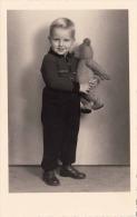 BUB Mit Teddybär, Hübsche Alte Fotokarte - Kinder
