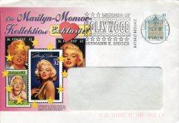 2186 Germany Special Postmark 1995  Legend Of Hollywood, Cinema Movie Film - Cinema