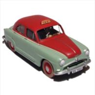 X TINTIN CARS CALCULUS AFFAIRLe Taxi Simca - (Calculus Affair) - Tintin