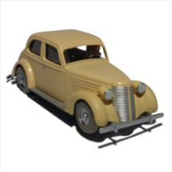 X TINTIN CARS CRABLa Voiture Accidentée - (Crab) - Tintin
