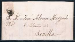 1870.- ENVUELTA A SEVILLA - 1868-70 Gobierno Provisional