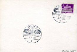 2195 Germany, Special Postmark International Filmfestspiele Berlin, 1964,  Film  Cinema Movie