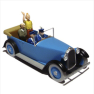 TINTIN CARS AMERICA    CHRYSLER IMPERIAL PACKARD SIX ANNI 20 - Tintin