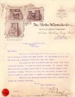 LONDON 1908 The Globe Wernicke Co Office & Library Furnishers - Royaume-Uni