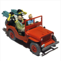 X TINTIN CARS BLACK GOLDWILLYS MB 1943 - Tintin