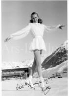 Photo Ancien / Femme / Ladiy / Woman / Kunstschaatsen / Patinage Artistique / Figure Skating / Photo Gehri / Davos - Deportes