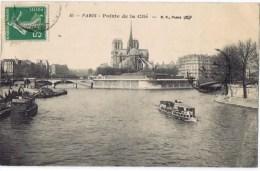 Cpa  Paris Pointe De La Cite - France