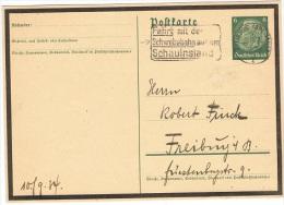 TEL-L6 - ALLEMAGNE Flamme De Propagande Pour Le Téléphérique Du Schauinsland 1934 - Allemagne