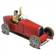 TINTIN CARS AMERICA    BUGATTI TYPE 35 1924 - Tintin