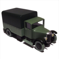 X TINTIN CARS BROKEN EARLe Camion Militaire (the Broken Ear) - Tintin