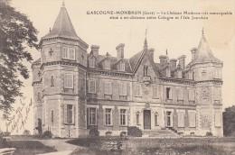 Gascogne-Monbrun () Le Chateau Moderne Situé à Mi-distance Entre Cologne Et L'Isle Jourdain - Otros Municipios