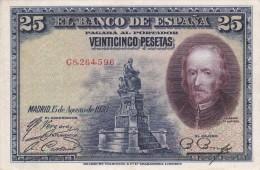 BILLETE DE ESPAÑA DE 25 PTAS DEL AÑO 1928 CALIDAD EBC (XF) SERIE C  (BANKNOTE) - [ 1] …-1931 : Premiers Billets (Banco De España)