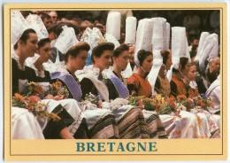 Les Reines De Pont-Aven Et Pont-l´Abbé Entourées De Leurs Demoiselles D´honneur - Non écrite - 2 Scans - Pont L'Abbe