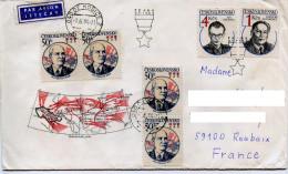 Histoire,front Russe,batailles 2.guére Mondiale,marechal Konev,heros Tchecoslovaque,Nalepka;Novomesky,lettre,medaille - WW2