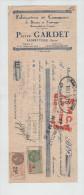 Lettre De Change Gardet Albertville Fabrication Commerce Beurre Fromages Emmenthal Comtés 1931 - Lettres De Change