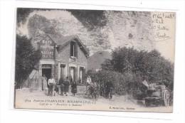 """76 - Environs D' HARFLEUR - ROGERVILLE : Café De La """"Pissotière à Madame"""" - Altri Comuni"""