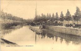 Gand. - Bas-Escaut - Pêcheries. - Carte Circulée En 1907. - Gent