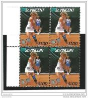 St Vincent    SG  1060  Blok 4  Missing Color !         **             Postfris  /  MNH  /  Postfrisch  /  Neuf  ** - St.-Vincent En De Grenadines